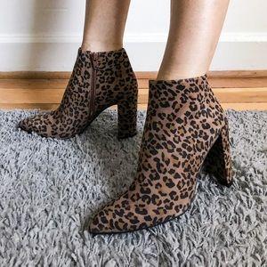Stuart Weitzman Pure Leopard Booties